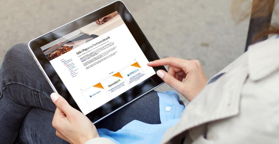 Payson partnerverktyg e-handel