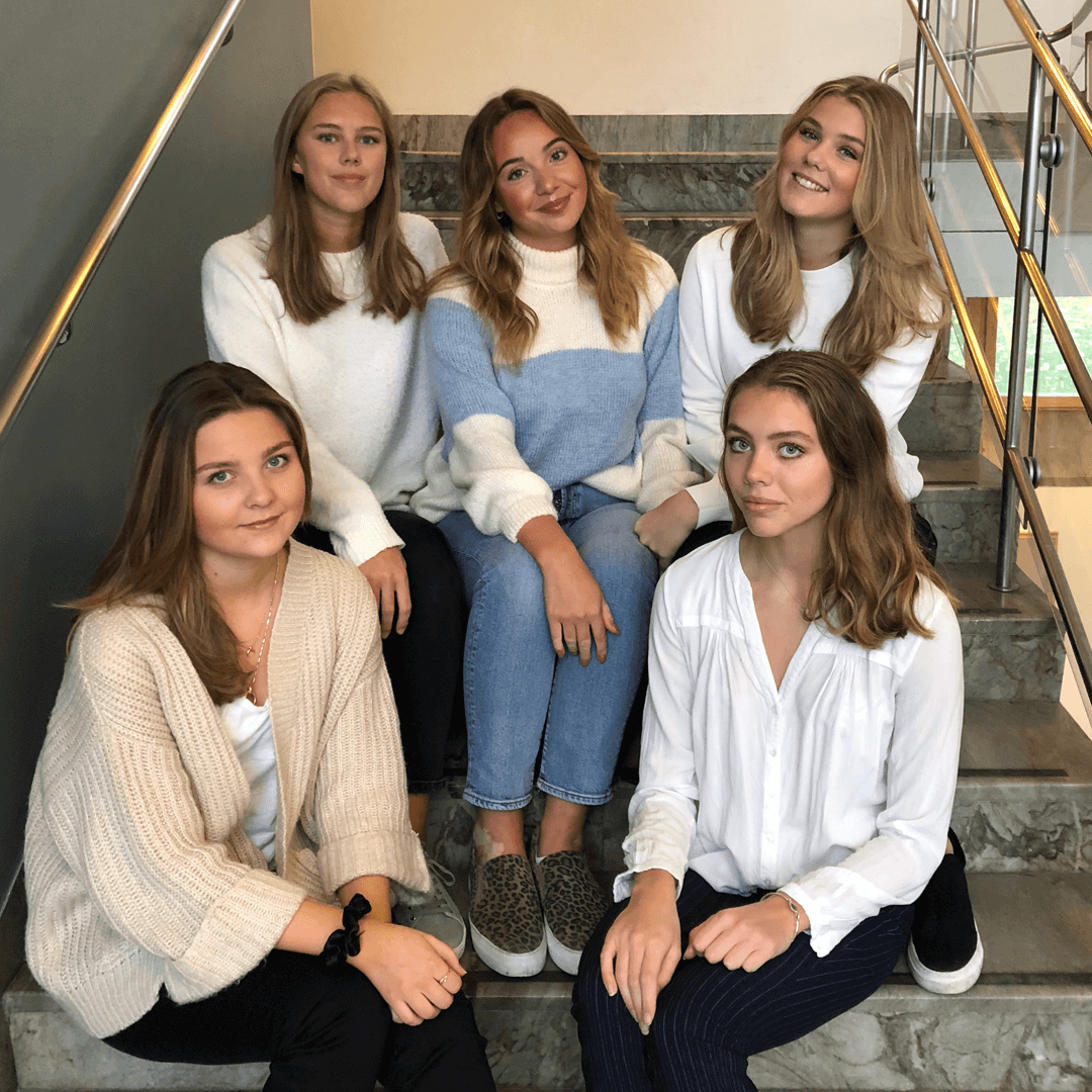 Finalisterna i tävlingen Young E-business of the Year 2018
