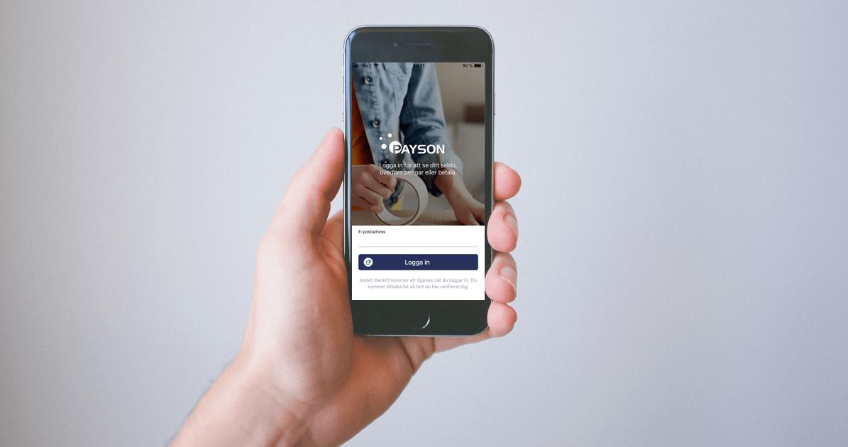 Payson lanserar mobilapplikation!