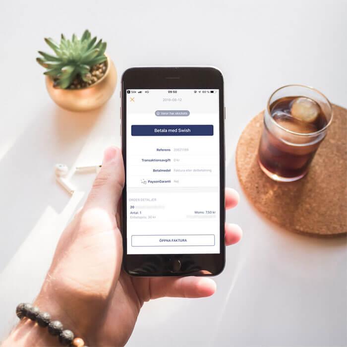 Nyhet! Betala fakturan i vår app!