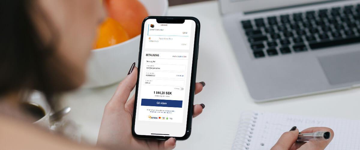 Ännu smidigare B2B-betalningar i Payson Checkout