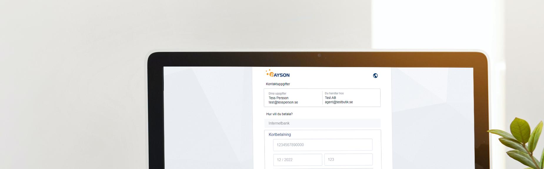 Nyhet: ny design på Payson 1.0!